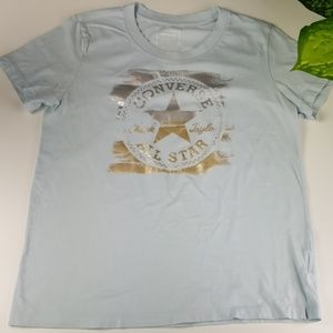 Converse Cotton Graphic T-Shirt Womens Large